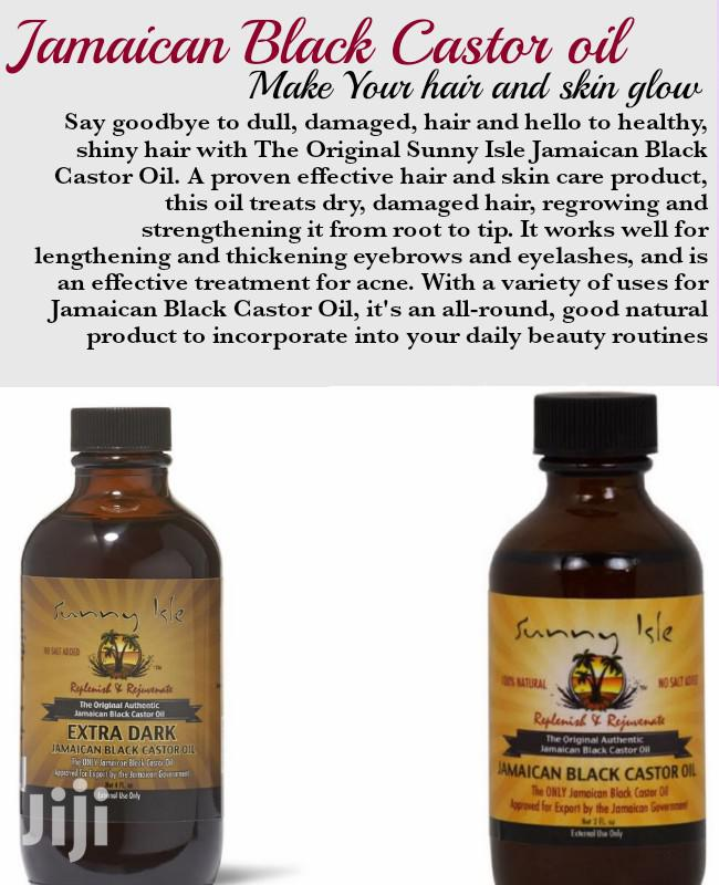 Jamaican Black Castor Oil 2oz