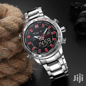 Naviforce Luxury Dual Display Digital Quartz Men Watch | Watches for sale in Greater Accra, Achimota
