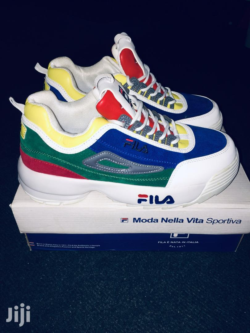 Archive: Brand New Fila Sneakers, Comes With It Box Too.