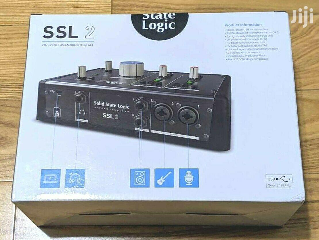 Solid State Logic SSL2 2x2 USB Audio Interface | Audio & Music Equipment for sale in Tesano, Greater Accra, Ghana