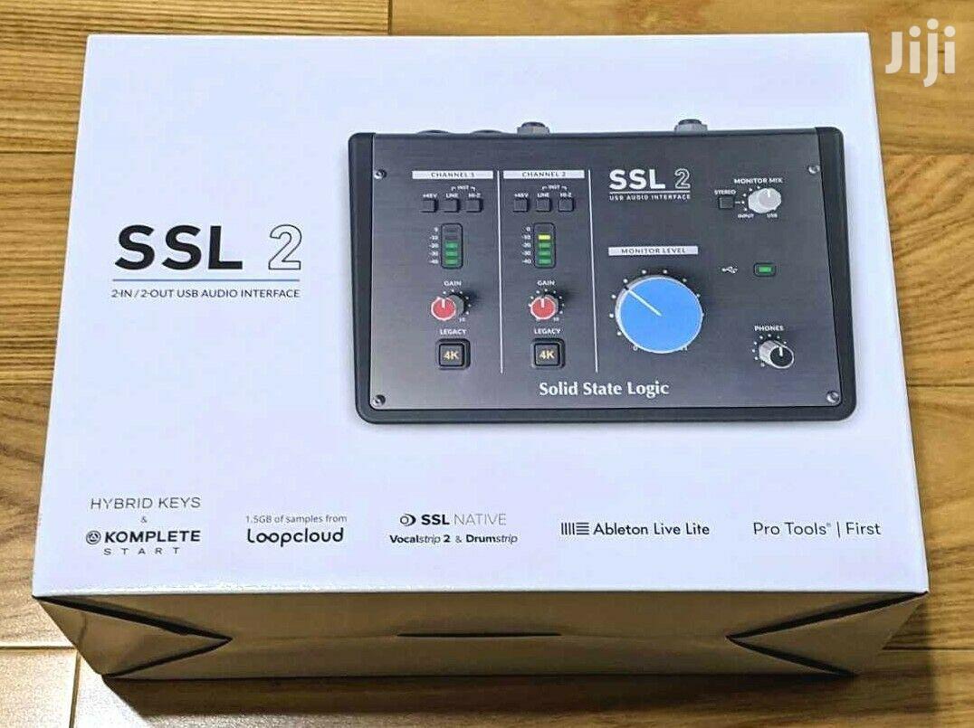 Solid State Logic SSL2 2x2 USB Audio Interface