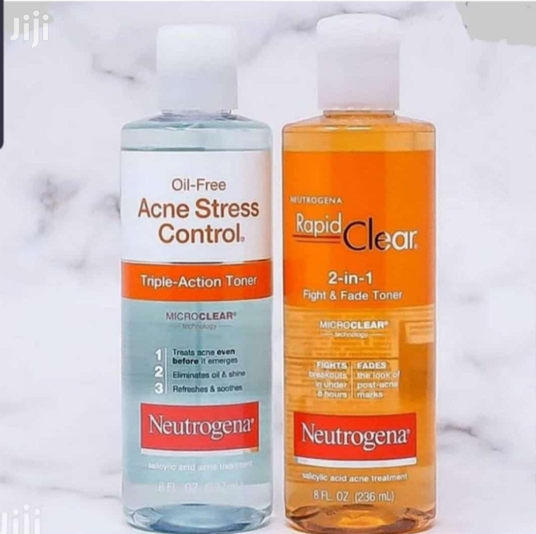 Archive: Neutrogena Rapid Clear and Oil Acne Stress Control.