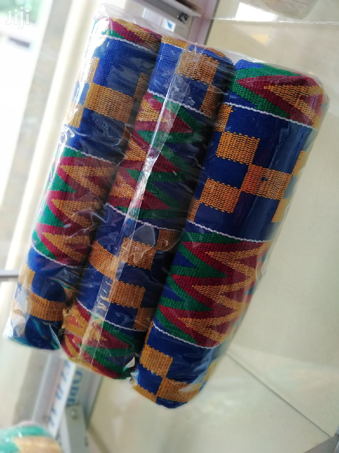 Fathia Fata Nkrumah Blue Kente | Clothing for sale in Achimota, Greater Accra, Ghana
