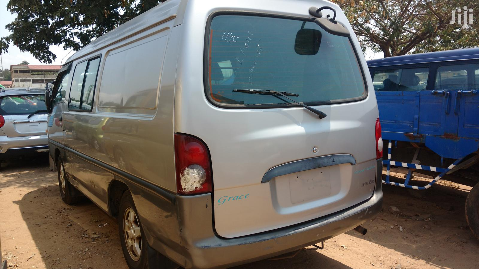 Hyundai H100 2002 Gray | Buses & Microbuses for sale in Abossey Okai, Greater Accra, Ghana