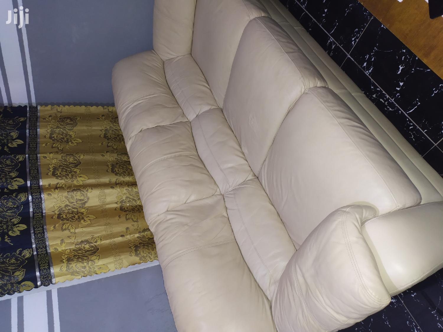 Quality Leather Sofa From Italy