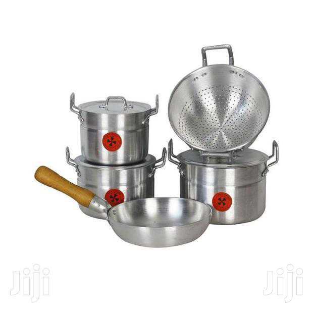 5 Set Alluminium Cooking Utensils