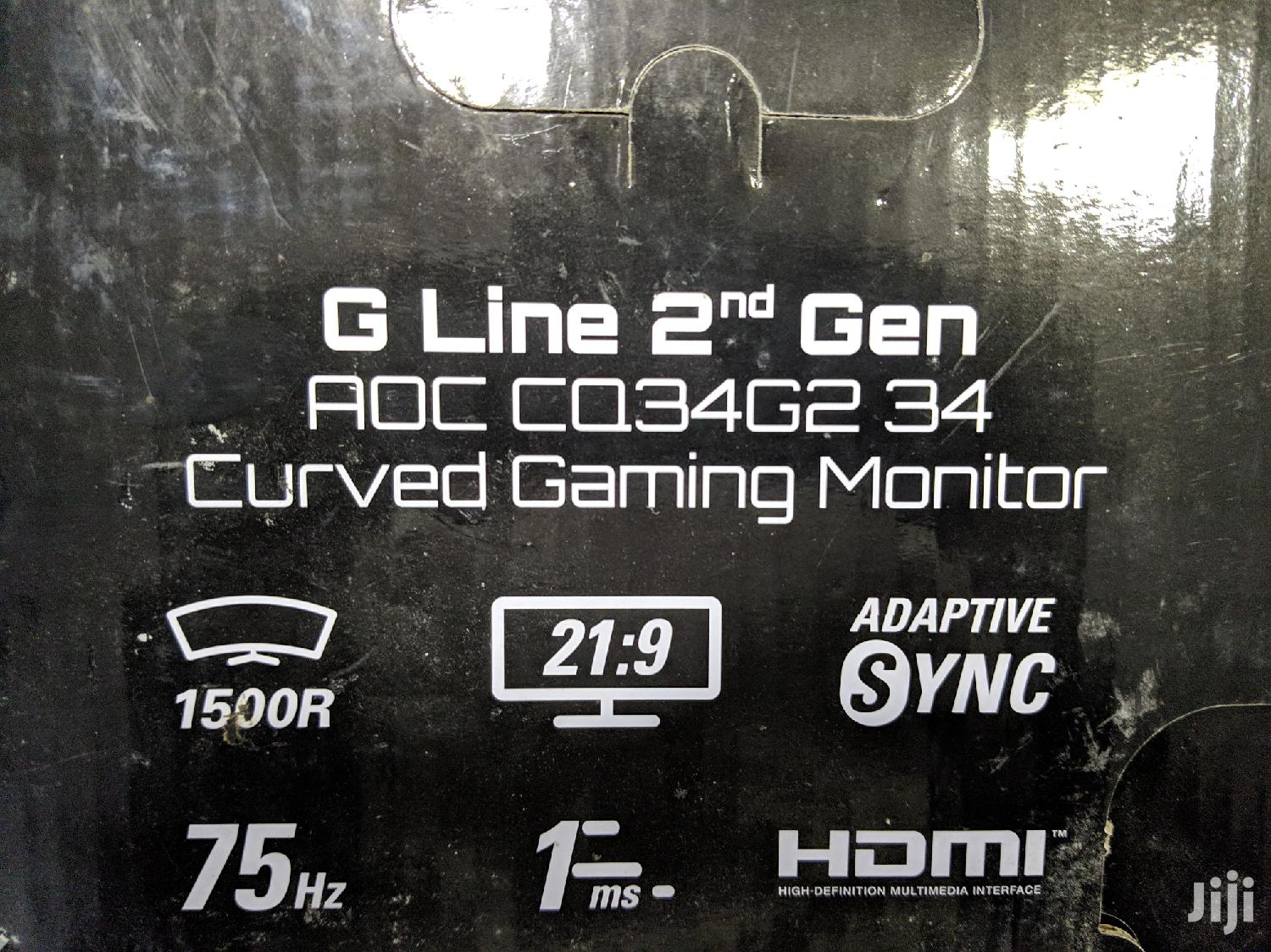 Archive: AOC CQ34G2 Curved Frameless Gaming Monitor Ultrawide FHD
