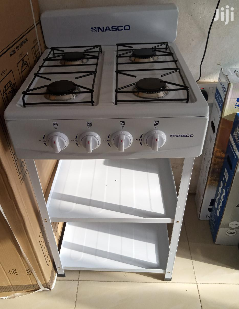 Sweet Nasco Stand Gas Stove With 2 Shelves