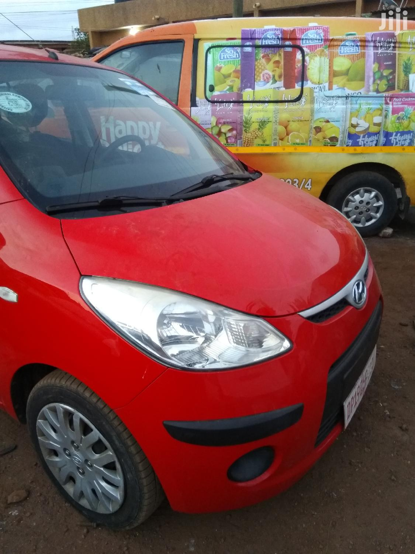 Archive: Hyundai i10 1.1 2010 Red