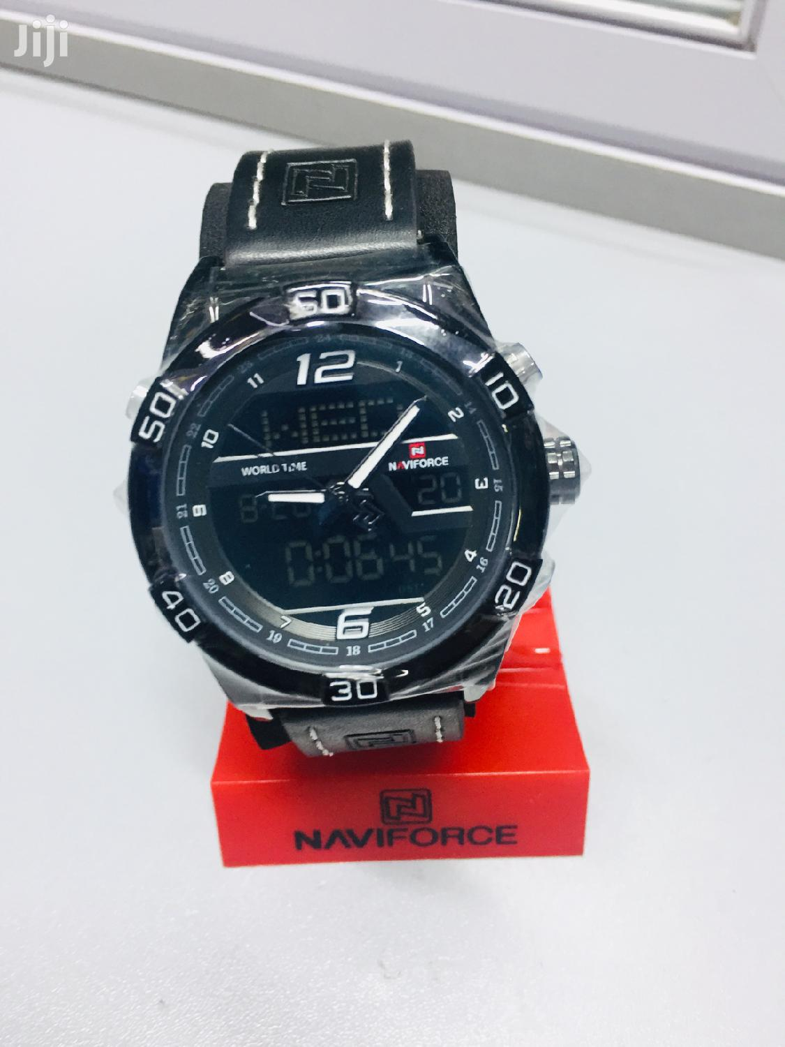 Archive: Naviforce Original Leather Watch