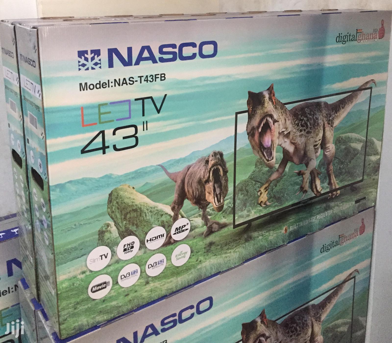 """Satellite Nasco 43"""" Digital Led TV"""