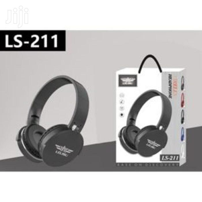 Lelisu LS-211 Wireless Headset | Headphones for sale in Accra Metropolitan, Greater Accra, Ghana