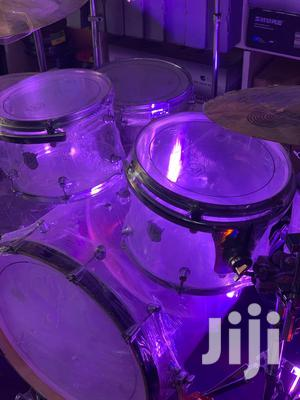 PZ Transparent 8-Piece Full Drumset   Musical Instruments & Gear for sale in Greater Accra, Accra Metropolitan