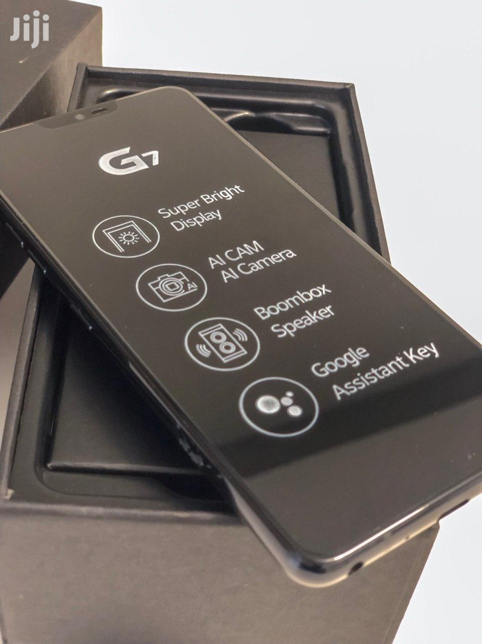 New LG G7 ThinQ 64 GB Black | Mobile Phones for sale in Accra Metropolitan, Greater Accra, Ghana