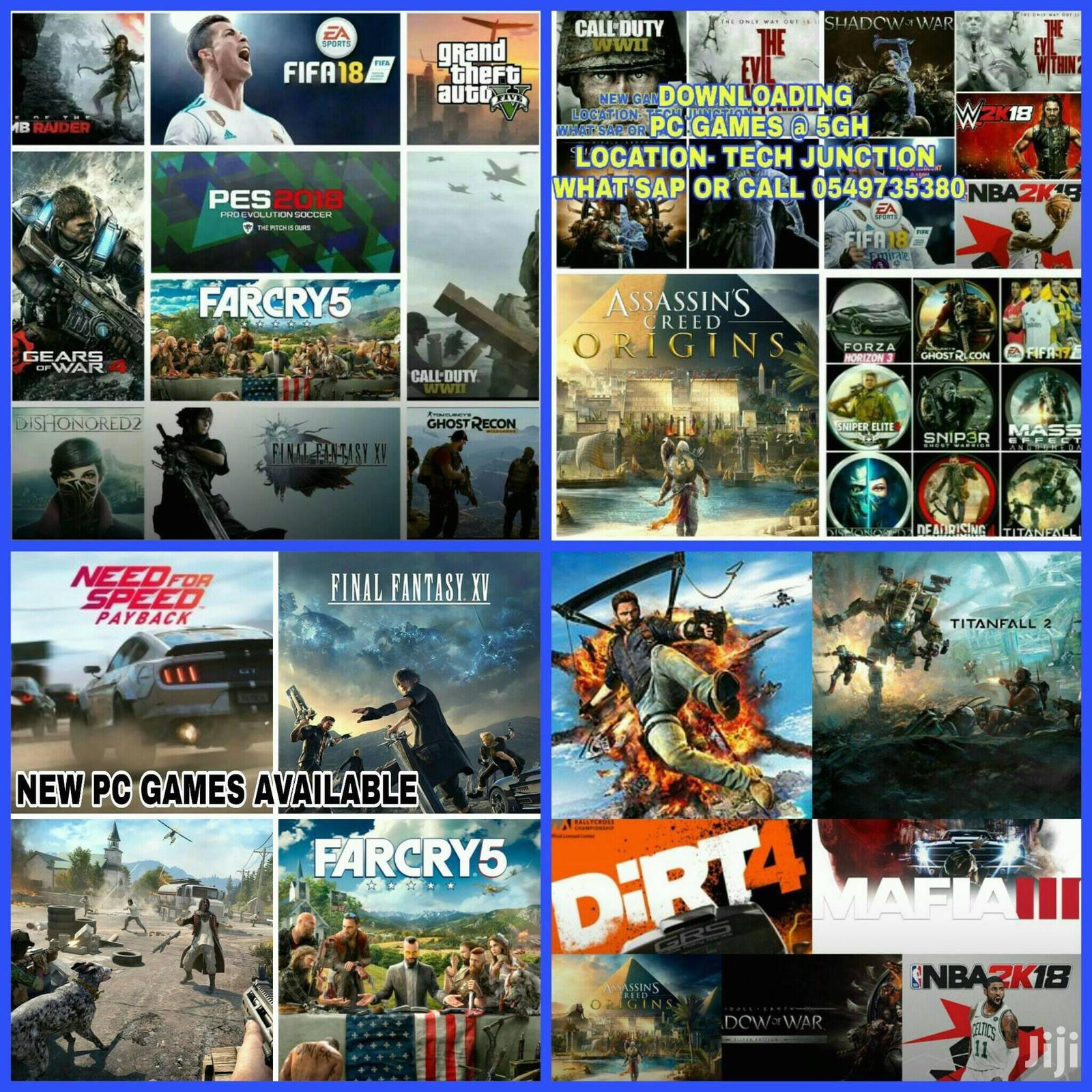 2020 And 2019 Pc Games Ready To Play At Affordable Price | Video Games for sale in Kumasi Metropolitan, Ashanti, Ghana