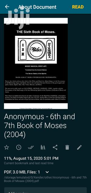 The 6th and 7th Book of Moses   Books & Games for sale in Ashanti, Kumasi Metropolitan