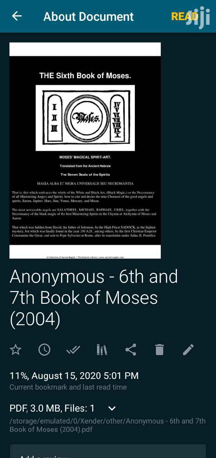 The 6th and 7th Book of Moses