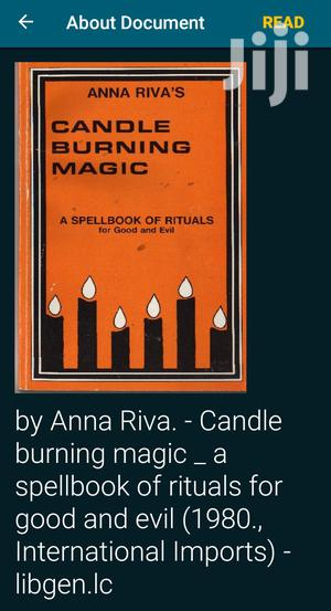 Candle Burning Magic Book   Books & Games for sale in Ashanti, Kumasi Metropolitan