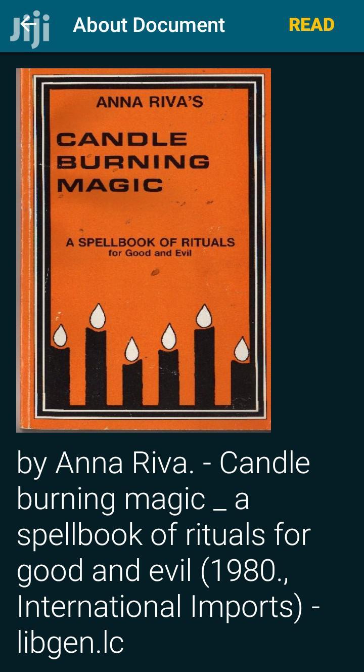 Candle Burning Magic Book