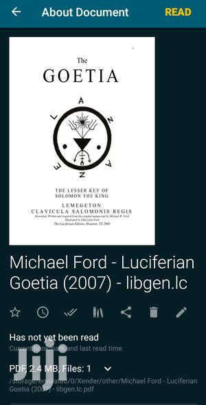 The Luciferian Goetia   Books & Games for sale in Ashanti, Kumasi Metropolitan