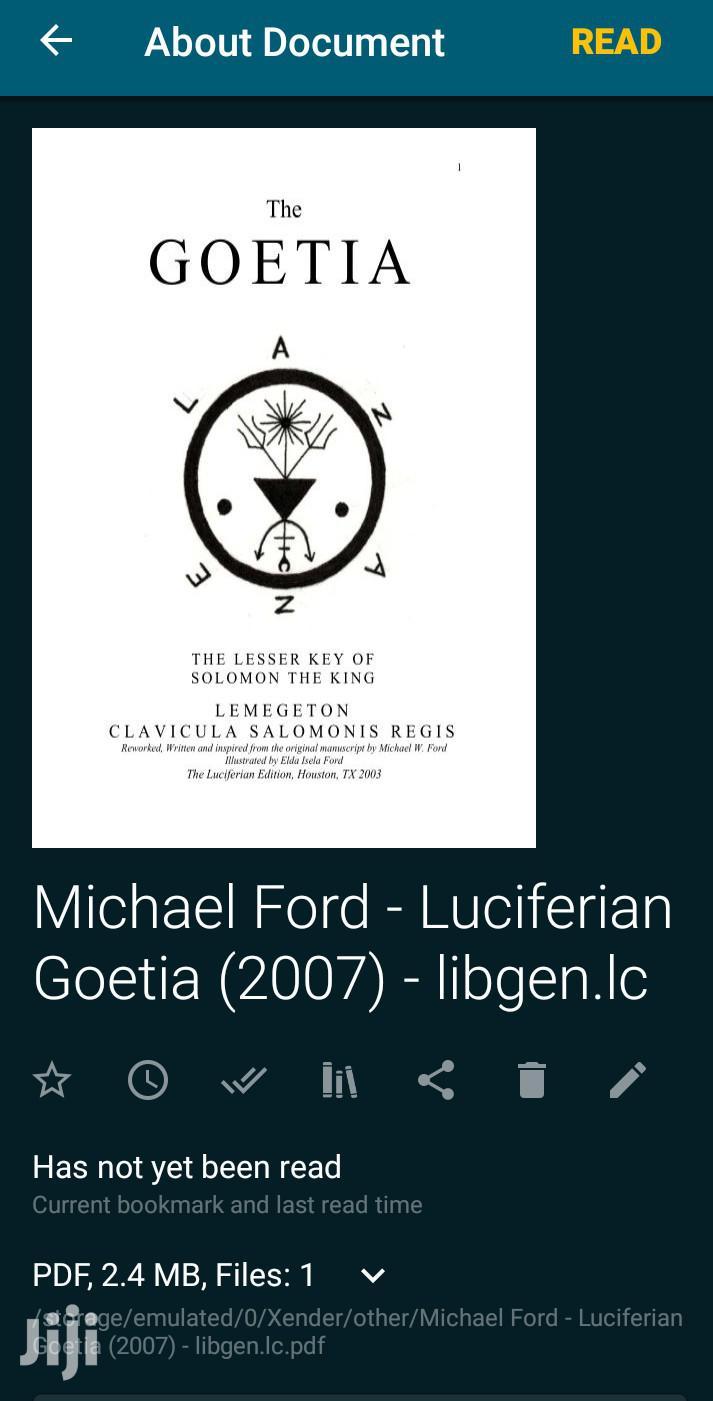 The Luciferian Goetia