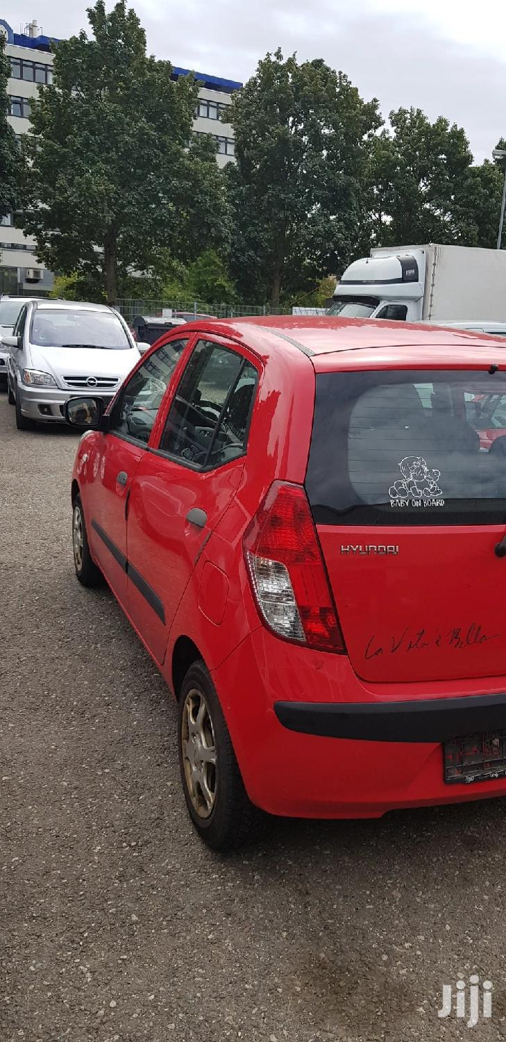 Hyundai i10 1.1 2010 Red | Cars for sale in Achimota, Greater Accra, Ghana