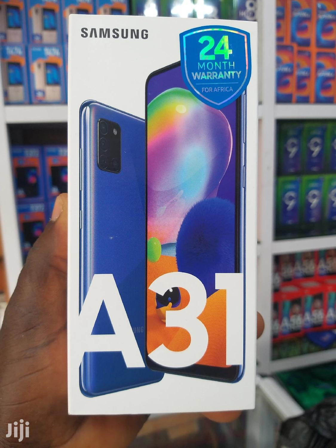 New Samsung Galaxy A31 128 GB Blue | Mobile Phones for sale in Dansoman, Greater Accra, Ghana