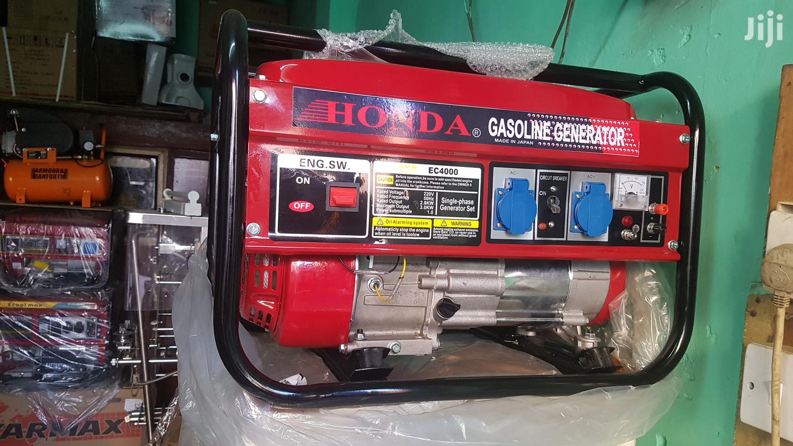 Archive: Honda 4000watts Generators