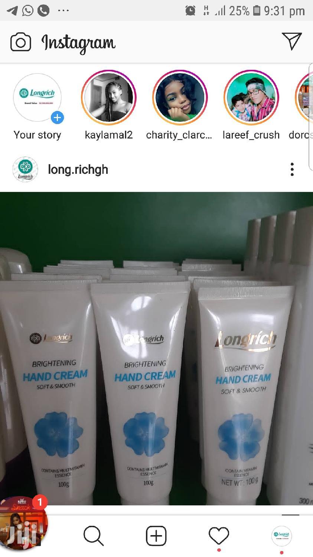 Archive: Longrich Brightening Hand Cream
