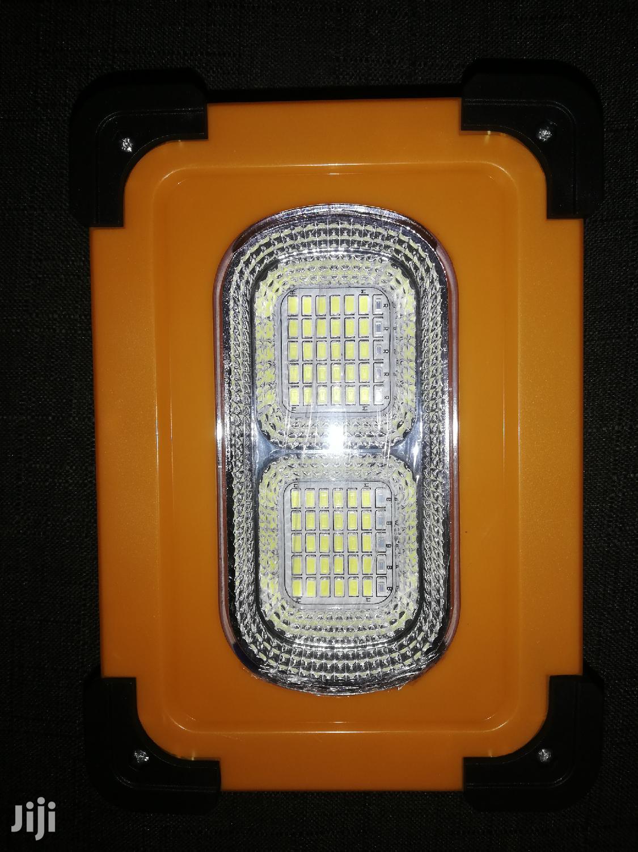 Solar Light + Power Bank
