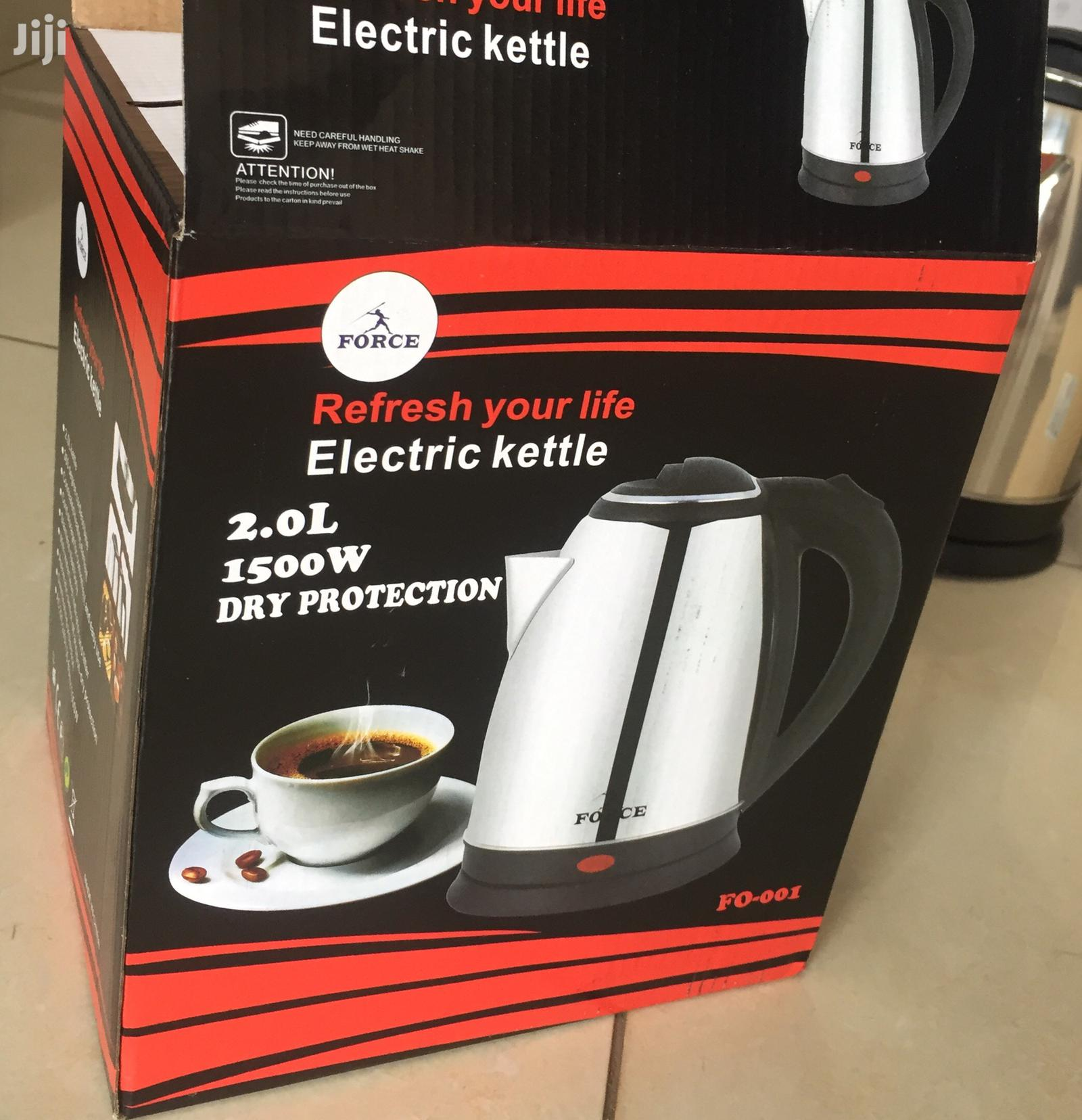 Force Electric Kettle   Kitchen Appliances for sale in Roman Ridge, Greater Accra, Ghana