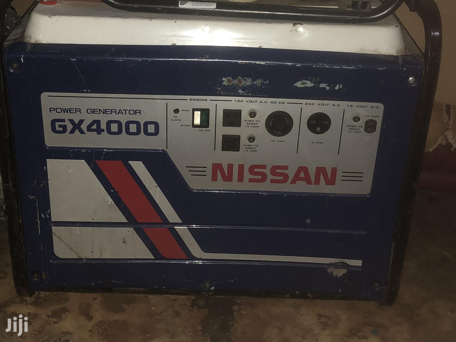 GX 4000 Nissan Generator | Electrical Equipment for sale in Ga West Municipal, Greater Accra, Ghana