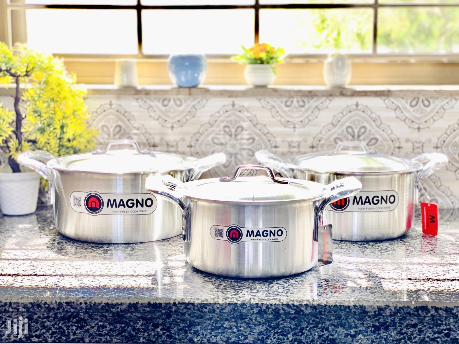 Archive: Magno 3 Set Cookware-Silver