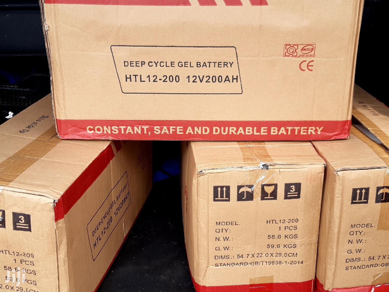 Archive: Max Power 12v 200ah HTL 12v 200ah Solar Gel Batteries