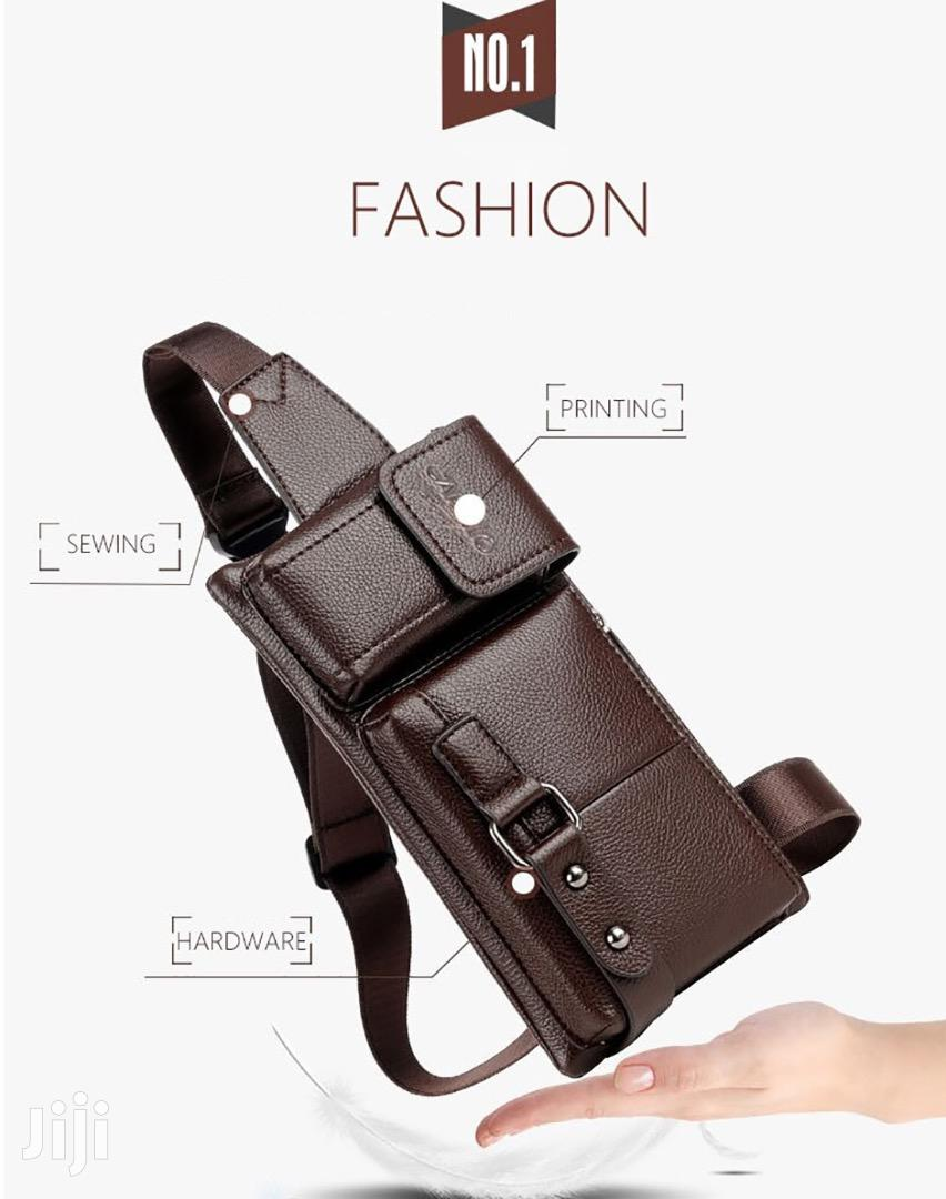 PU Leather Sport Waist Bag