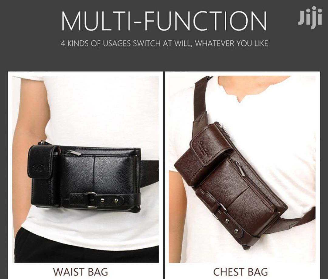 PU Leather Sport Waist Bag | Bags for sale in Ga East Municipal, Greater Accra, Ghana