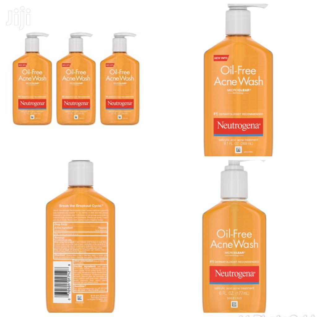 Archive: Neutrogena Oil Free Acne Wash