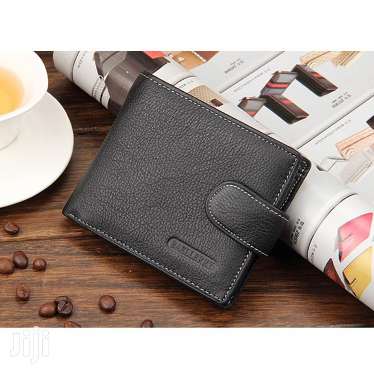 Black Baellery Mens Leather Wallet   Bags for sale in Achimota, Greater Accra, Ghana