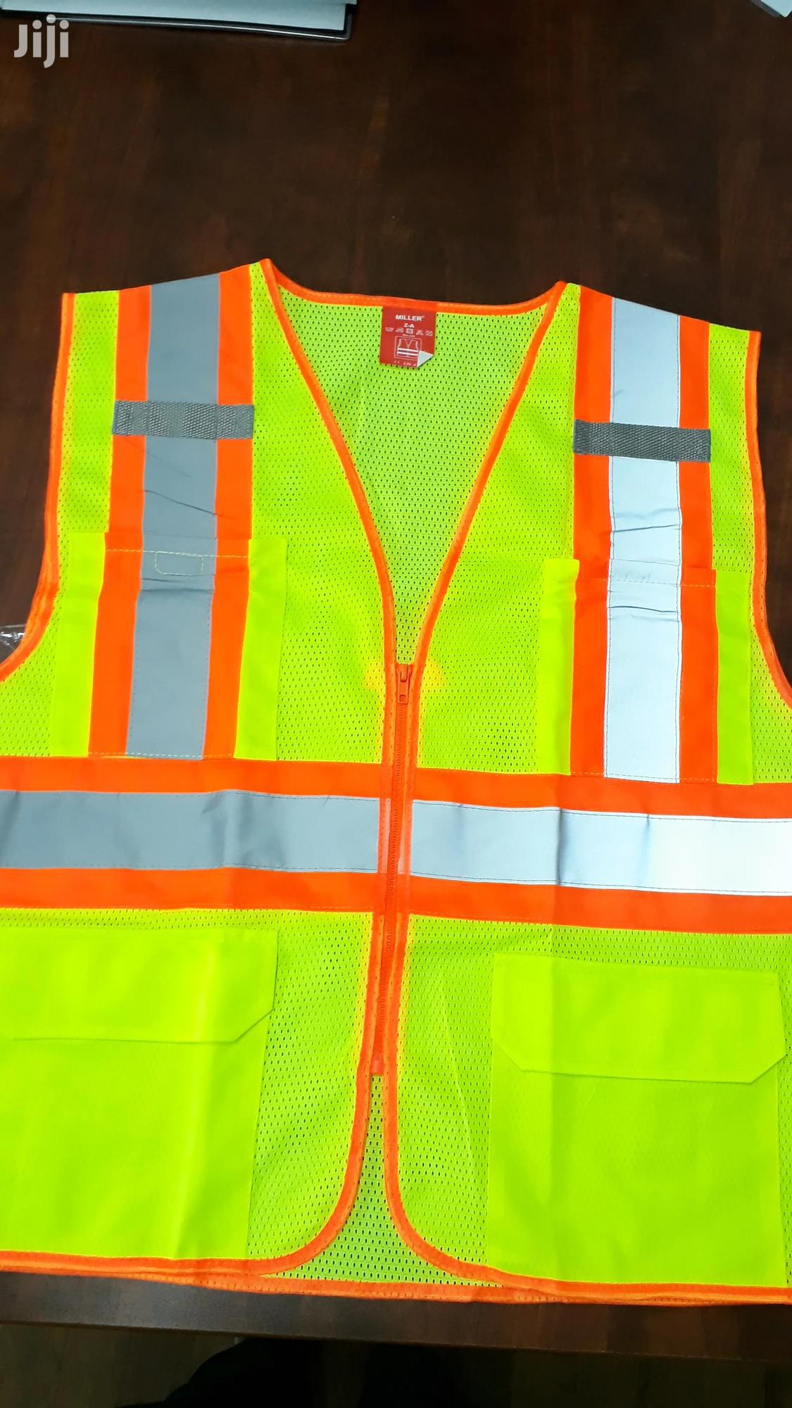 Empiral Ventilated Reflective Vest With Pockets | Safety Equipment for sale in Tema Metropolitan, Greater Accra, Ghana