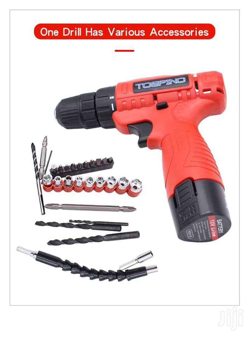 Cordless Compact Drill With 1.5ah Lithium-ion Battery