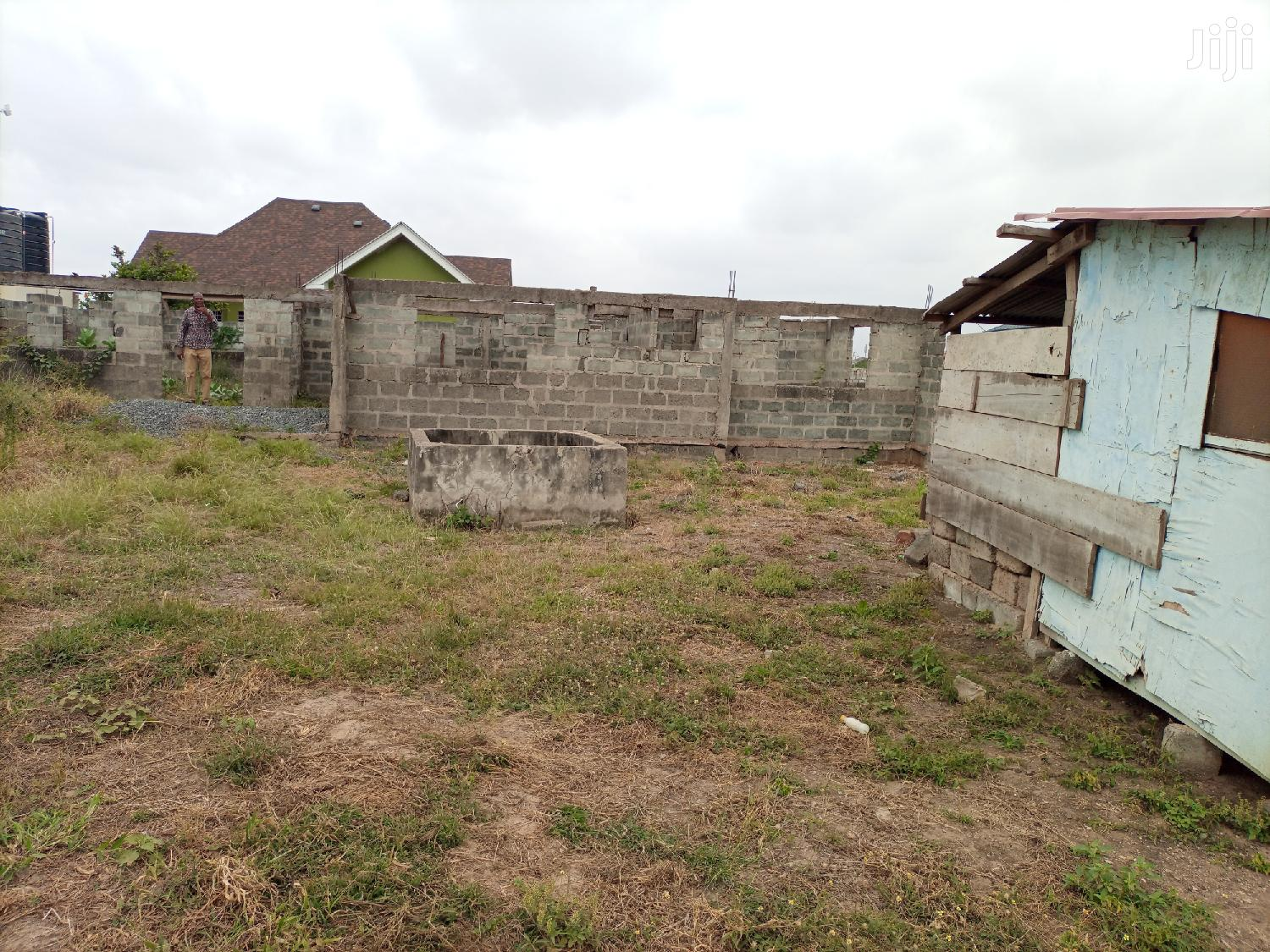 Land With An Uncompleted Building For Sale At C 25 PS | Houses & Apartments For Sale for sale in Tema Metropolitan, Greater Accra, Ghana