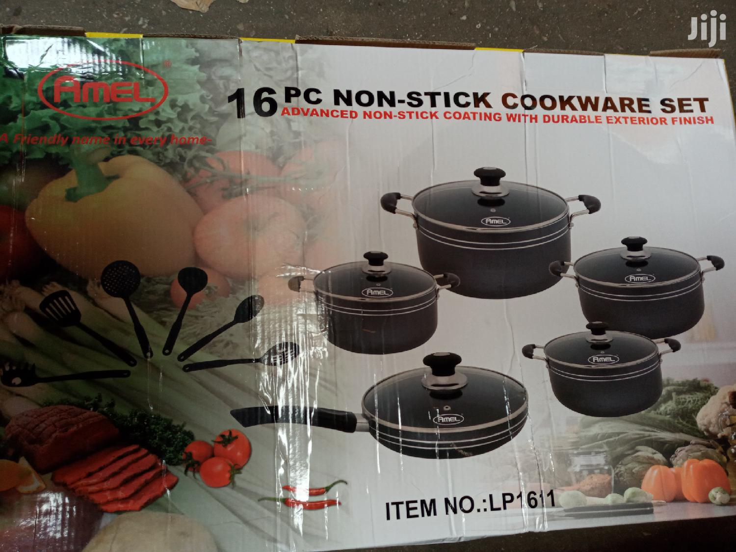 16 Pcs Non Stick Cooking Ware