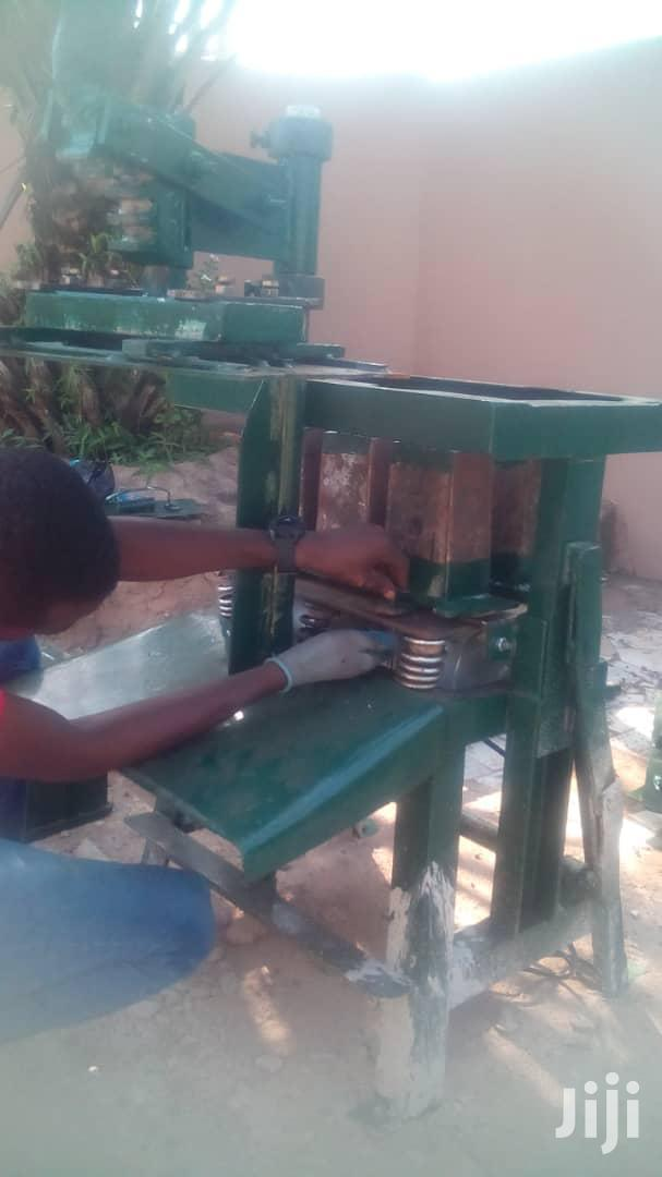 """Original 5"""" 6"""" Solid/Hollow Block Making Machine   Manufacturing Equipment for sale in Adenta Municipal, Greater Accra, Ghana"""