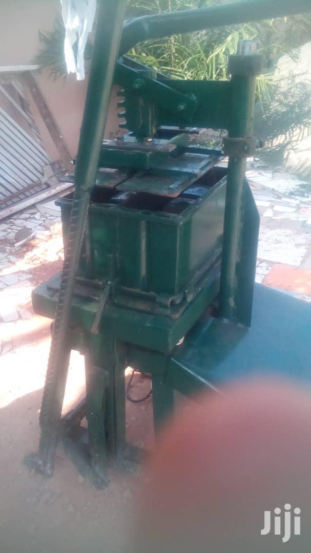 "Original 5"" 6"" Solid/Hollow Block Making Machine"