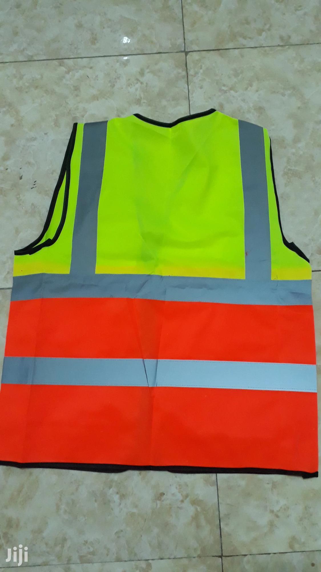 Double Colour Reflective Vest With Pockets