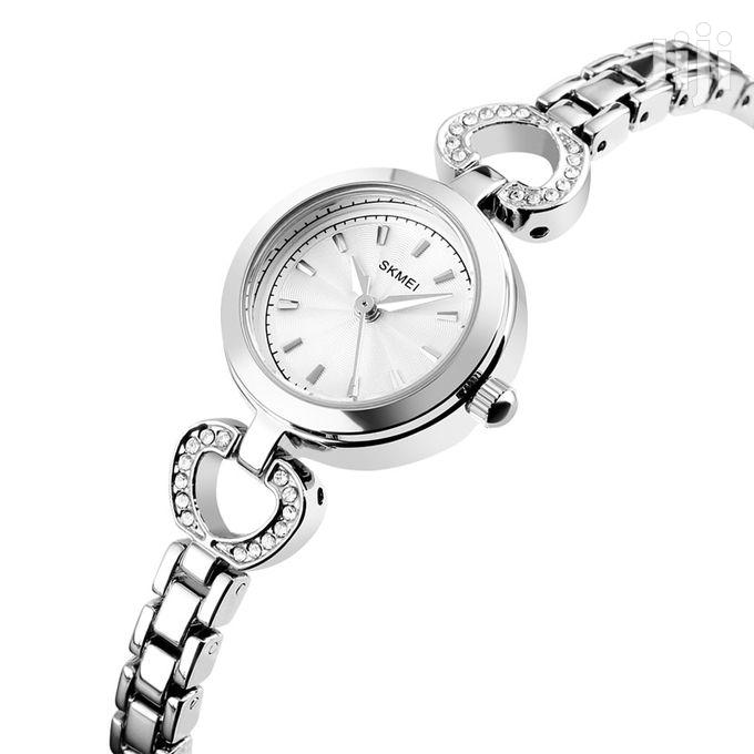 SKMEI Women Quartz Watch Stainless Steel Bracelet Fashion