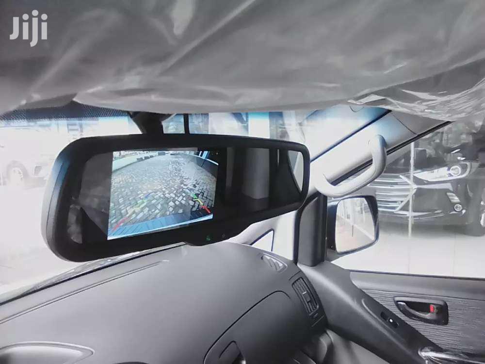 4' Car Review Mirror Monitor Reverse Camera
