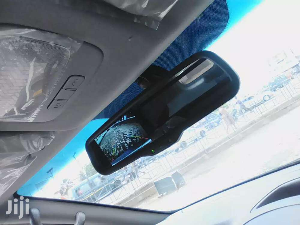 4' Car Review Mirror Monitor Reverse Camera | Vehicle Parts & Accessories for sale in South Labadi, Greater Accra, Ghana