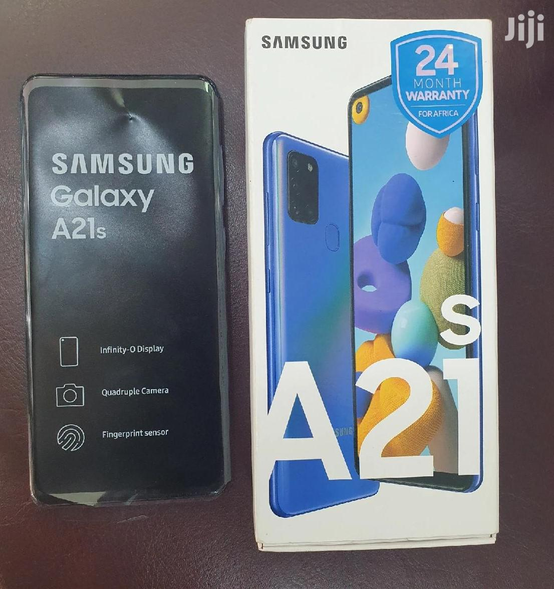 New Samsung Galaxy A21s 64 GB Black | Mobile Phones for sale in Kumasi Metropolitan, Ashanti, Ghana