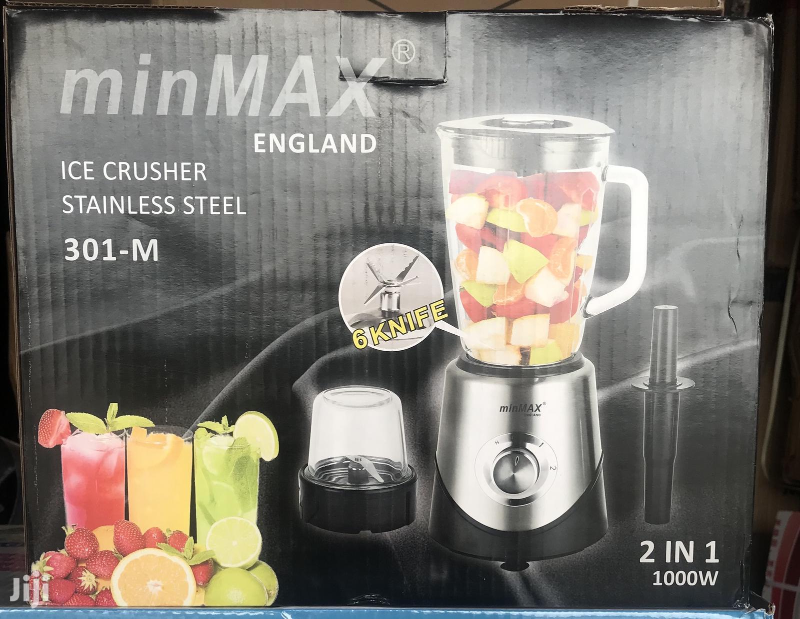 Minmax Glass Blender